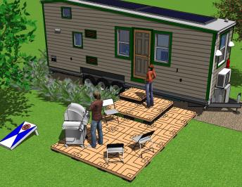 UDECX for Tiny Homes