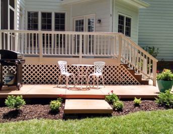UDECX Patio Deck Designs | Build of the Month